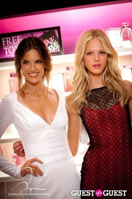 alessandra ambrosio in FNO at Victoria's Secret