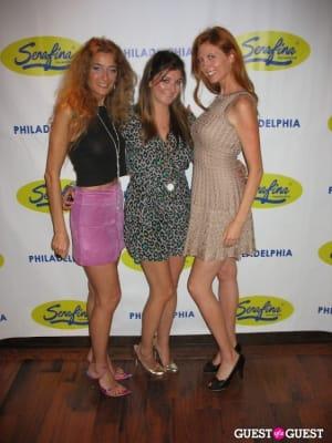 caroline alexa-mcbride in Serafina Philadelphia Grand Opening Party