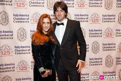 alessia buset in Italy America CC 125th Anniversary Gala