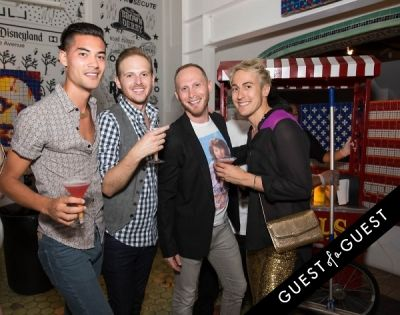 nick kilgore in Hollywood Stars for a Cause at LAB ART