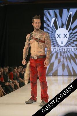 alex minsky in Art Hearts Fashion F/W 2015 - Mister Triple X, Artistix Jeans, House of Byfield