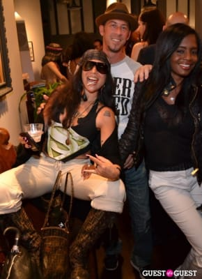 z hot in Grand Opening of Wooster St Social Club/ NY INK