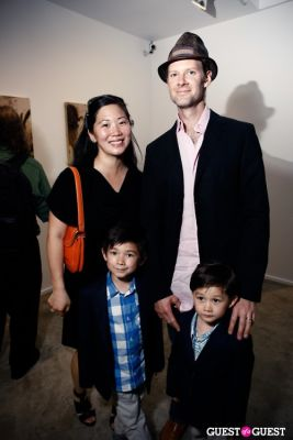 alex stein in Robert Dandarov Exhibit Opening Party