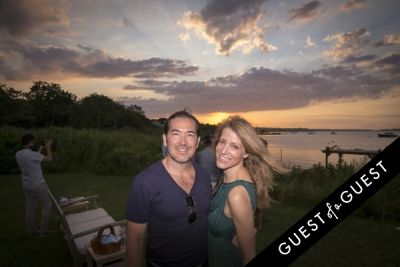 alex yong in GUEST OF A GUEST x DOLCE & GABBANA Light Blue Mediterranean Escape In Montauk