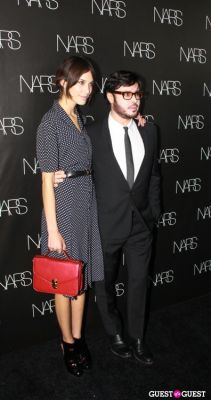 alexa chung in NARS Cosmetics Launch