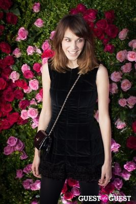 alexa chung in CHANEL Hosts Seventh Annual Tribeca Film Festival Artists Dinner