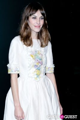 alexa chung in Chanel Fine Jewelry Presents