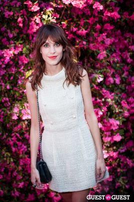 alexa chung in Chanel Hosts Eighth Annual Tribeca Film Festival Artists Dinner