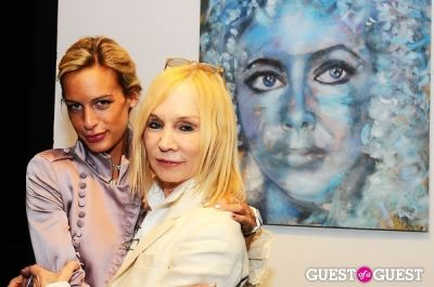 maggie norris in Billy Norwich, Gillian Hearst and the Sanctuary Hotel host party for artist Garrett Chingery