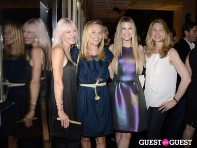 melina goldstein in Sergio Rossi Party at Bal Harbour Shops