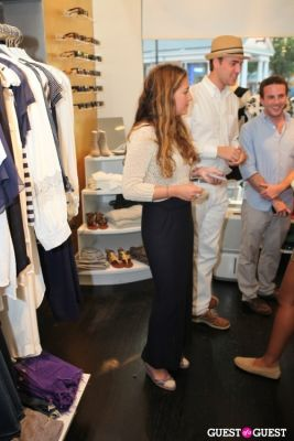 annabelle caufman-soudavar in House of Berardi Debut at Blue and Cream