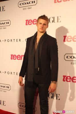 alexander ludwig in 9th Annual Teen Vogue 'Young Hollywood' Party Sponsored by Coach (At Paramount Studios New York City Street Back Lot)