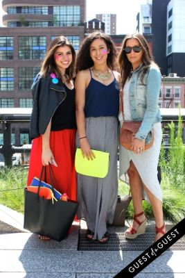 alexandra alquiza in High Line Street Style 2015