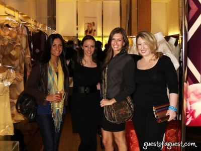 alexandra anza in La Perla Shopping Event