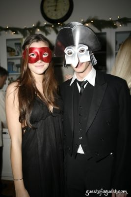alexandra evans in Masquerade christmas party
