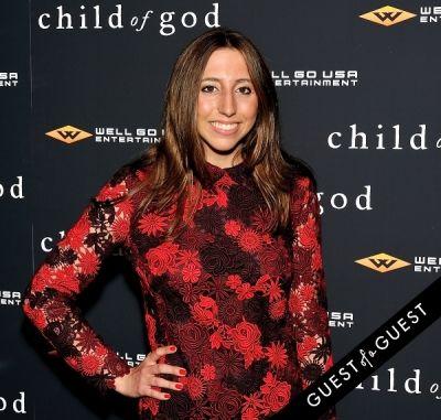 alexandra fairweather in Child of God Premiere