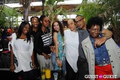 jamal harrell in Everyday People Brunch at The DL Rooftop celebrating Chef Roble's Birthday