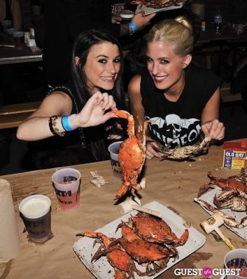 alexandra halpern in Hammer and Claws Blue Crab Feast Day 1