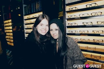 danrera essakow in Warby Parker Upper East Side Store Opening Party