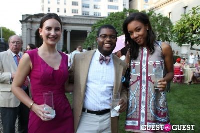 arielle patrick in The Frick Collection's Summer Garden Party