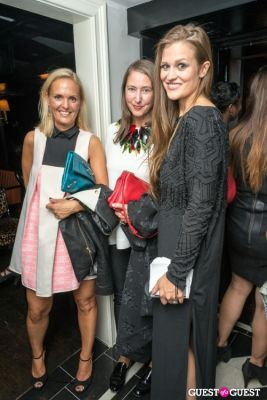 alexandria devillers in H&M and Vogue Between the Shows Party