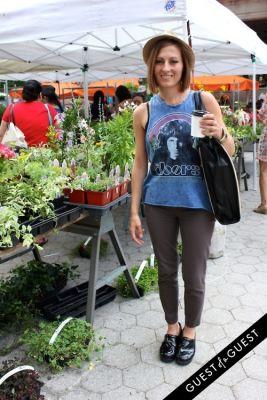 alexandria tava in Union Square Street Style Summer 2015