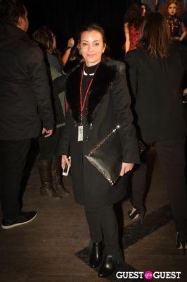 alexis tedesco in NYC Fashion Week FW 14 Street Style Day 5