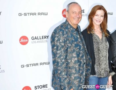 marcia cross in Leica Store Los Angeles: Grand Opening