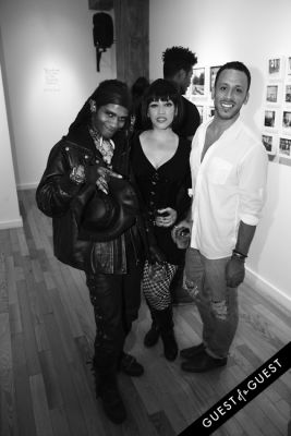 lady zombie-and-xavier-torres in Art Now NY Opening of
