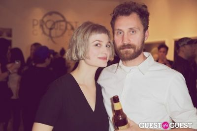 ali sudol in Private Reception of 'Innocents' - Photos by Moby
