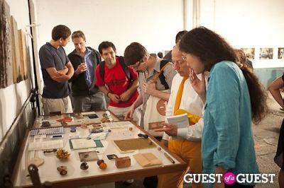 ali van in Art and Social Activism Exhibition Opening