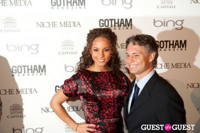alicia keys in Gotham Magazine Annual Gala