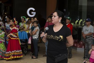 alicia mendibles in The Shops at Montebello Hispanic Heritage Month Event