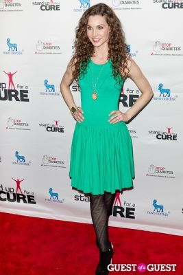 alicia minshew in Stand Up for a Cure 2013 with Jerry Seinfeld