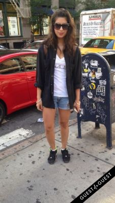 alicia santana in Summer 2014 NYC Street Style