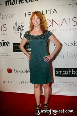 alicia witt in Marie Claire Hosts: RedLight Children