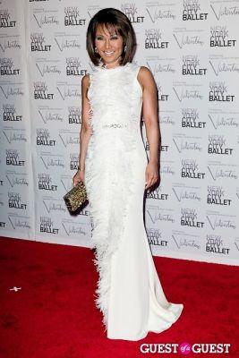 alina cho in New York City Ballet Fall Gala Celebrates Valentino