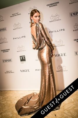 aline weber in Brazil Foundation XII Gala Benefit Dinner NY 2014