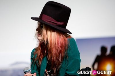 alison mosshart in ARTIST TALK: The Kills and Kenneth Cappello Moderated by Kate Lanphear