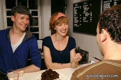 alison nelson in Grand Opening Chocolate Bar West Village