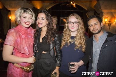 lulu obermayer in LAND Celebrates an Installation Opening at Teddy's in the Hollywood Roosevelt Hotel