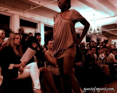 allegra coryell in Underground Fashion Show