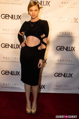 allie gonino in Genlux Magazine Winter Release Party with Kristin Chenoweth