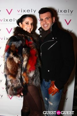daniel sanchez in Very Vixely Hurricane Sandy Relief Party