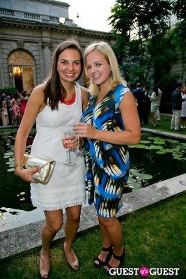 katie mcgee in The Frick Collection Garden Party