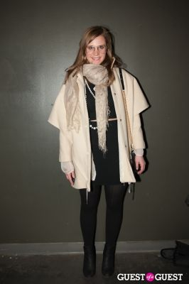 allison plate in NYC Fashion Week FW 14 Street Style Day 2