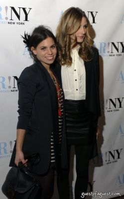 ally hilfiger in ART ROCKS BENEFIT - Bowery Hotel