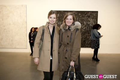 ally lewis in New Museum's George Condo Exhibit
