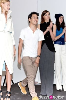 altuzarra model in International Woolmark Prize Awards 2013