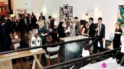 alyse whitney in Luxury Listings NYC launch party at Tui Lifestyle Showroom